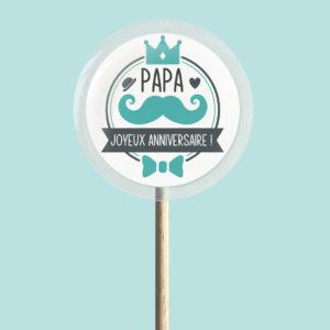 Sucette joyeux anniversaire Papa