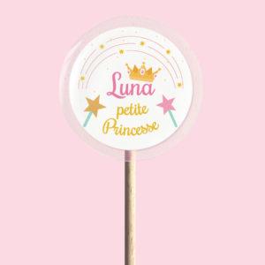 Sucette petite princesse