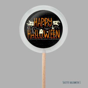 Les sucettes Halloween
